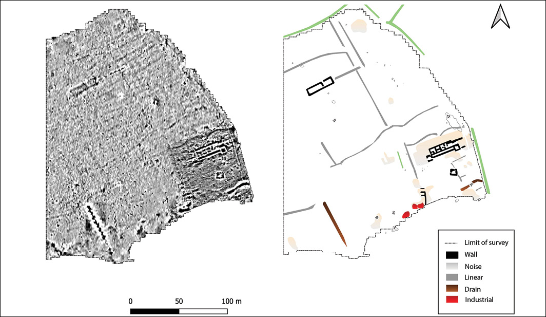 Roman villa revealed near Wrexham