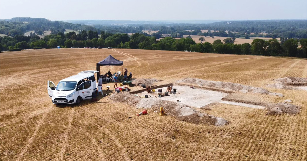 Anglo-Saxon 'warrior' burial uncovered