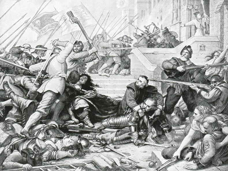English Civil War massacre 'cover-up' revealed