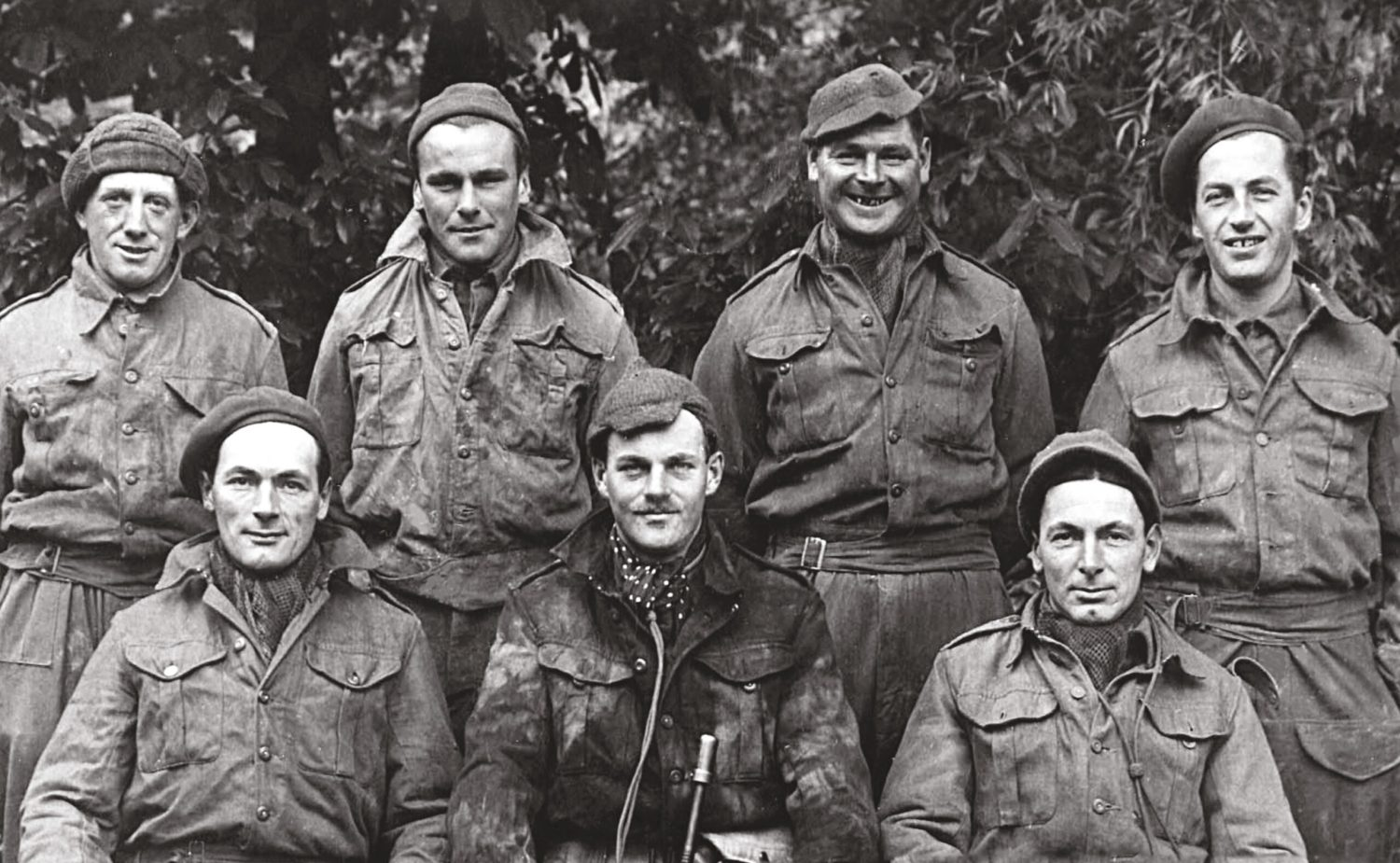 The Spetisbury Patrol in Dorset a rare contemporary photograph of an Auxiliary Patrol. Much remains unknown about Churchill's top-secret underground army.
