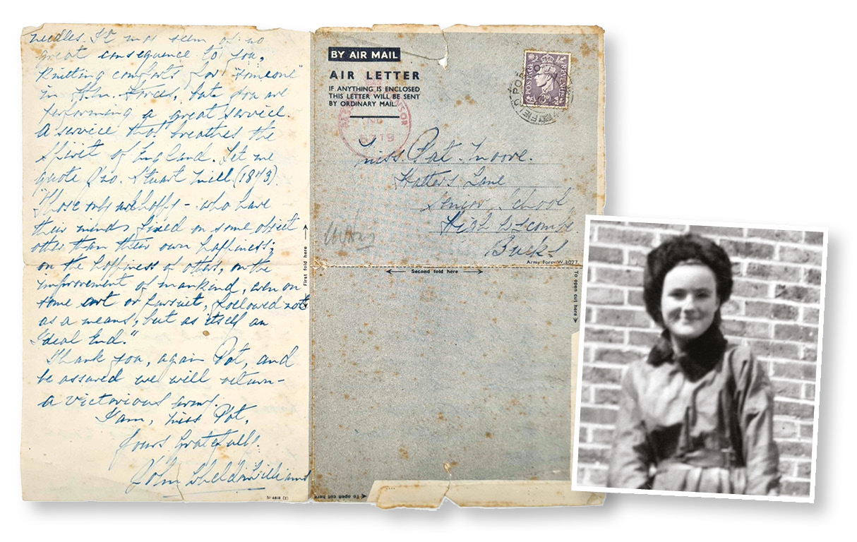 Lost wartime letter reaches family after 75 years