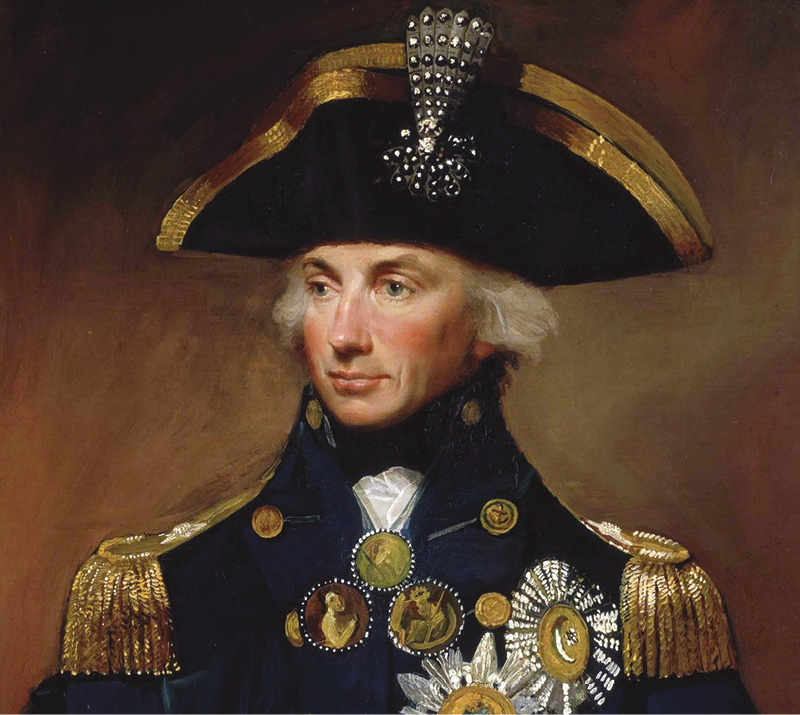 Nelson urged mistress to vaccinate their daughter against smallpox