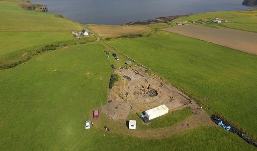 Photos: Andrew Hollingrake / UHI Archaeology Institute.
