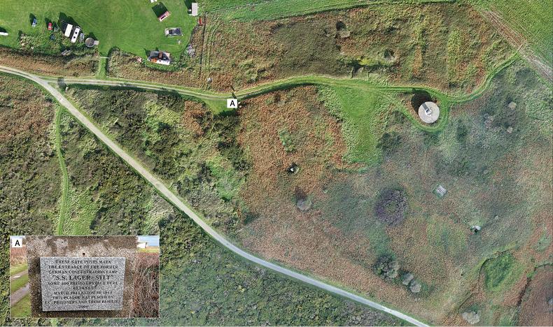 Alderney's concentration camp uncovered