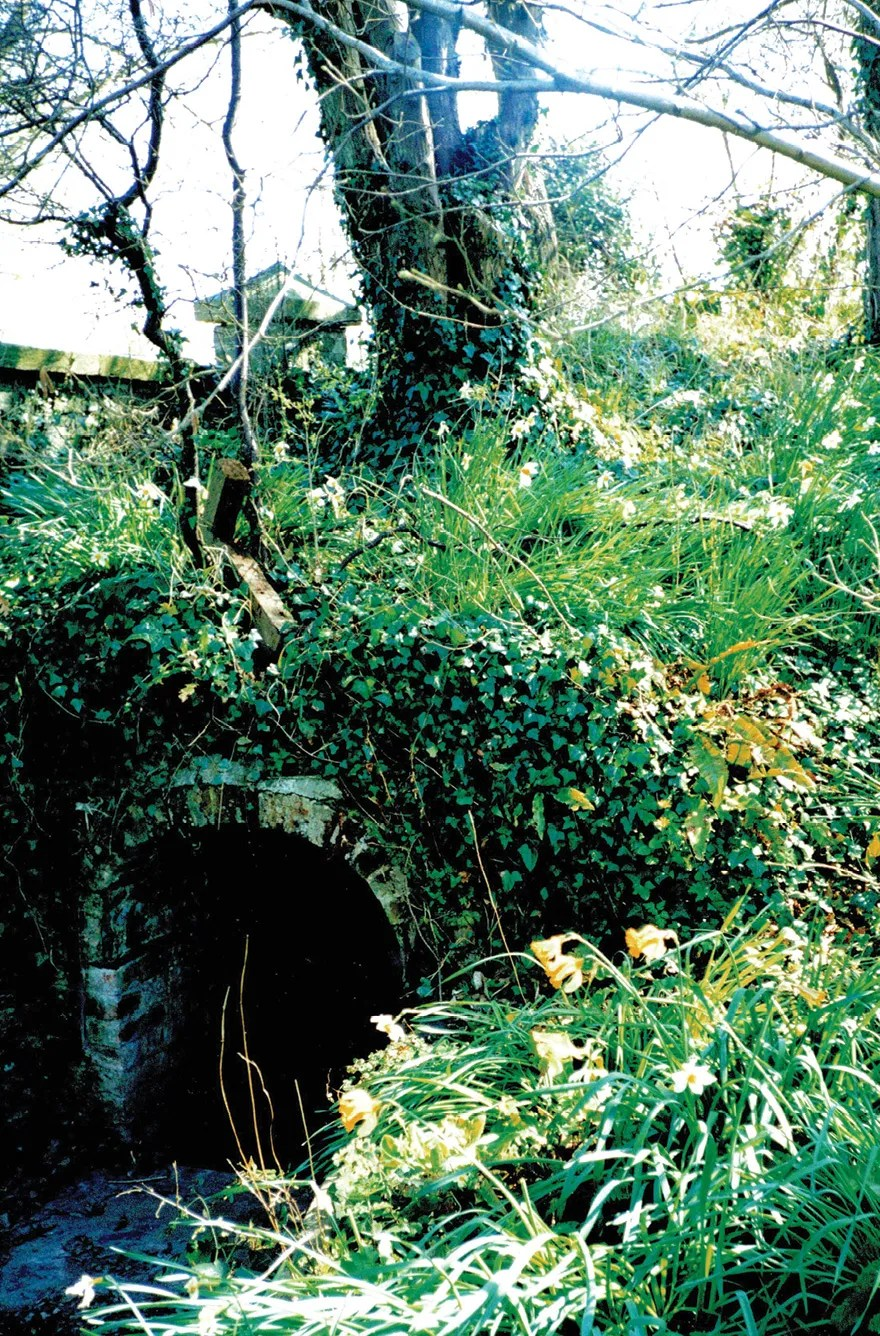 RIGHT St Kew (formerly Docco) has been identified as the monastery where St Samson and his followers were heading when they arrived in Cornwall. This holy well, restored in 1890, may have been the monk's water supply and was much visited by later medieval pilgrims.