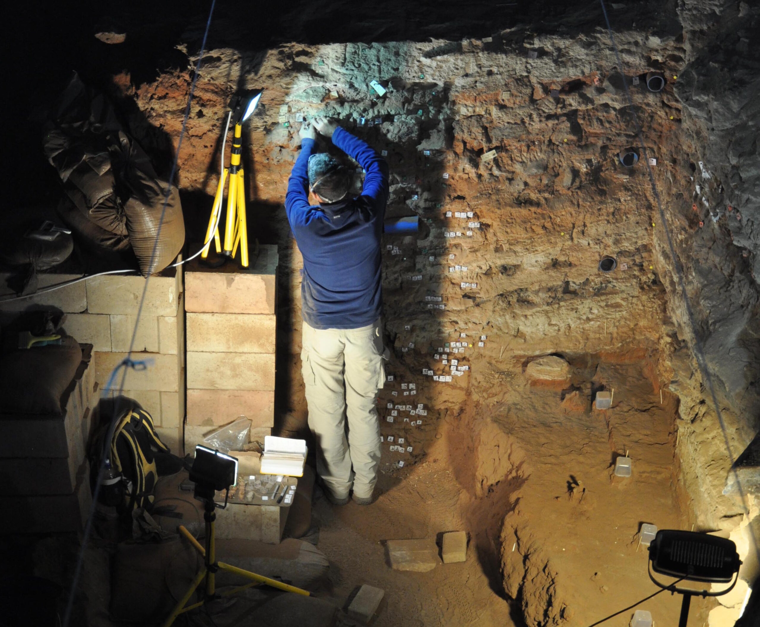 Dating techniques identify possible earliest evidence for cave occupation