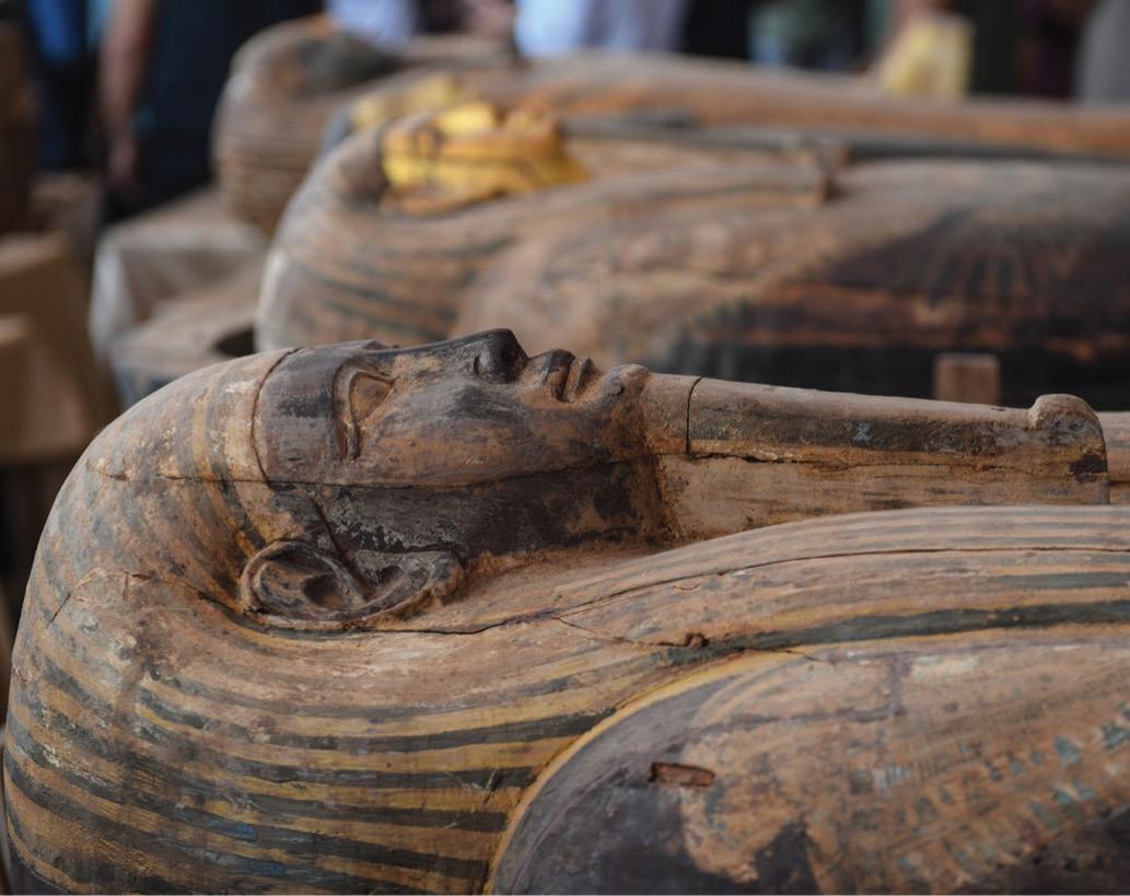 New discoveries at Saqqara