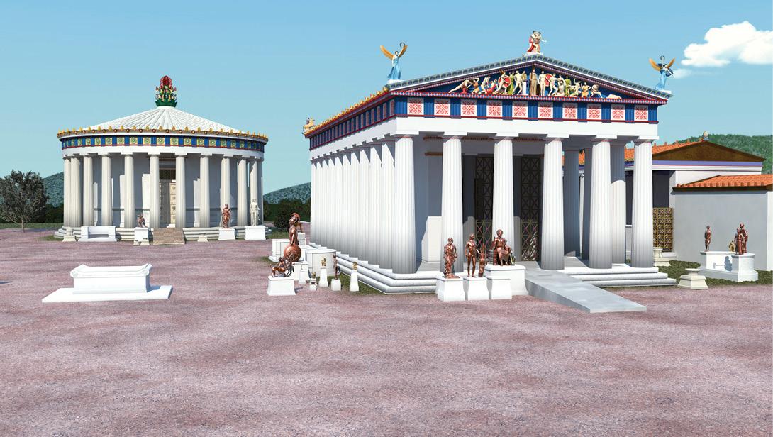 Accessibility at ancient Greek sanctuaries