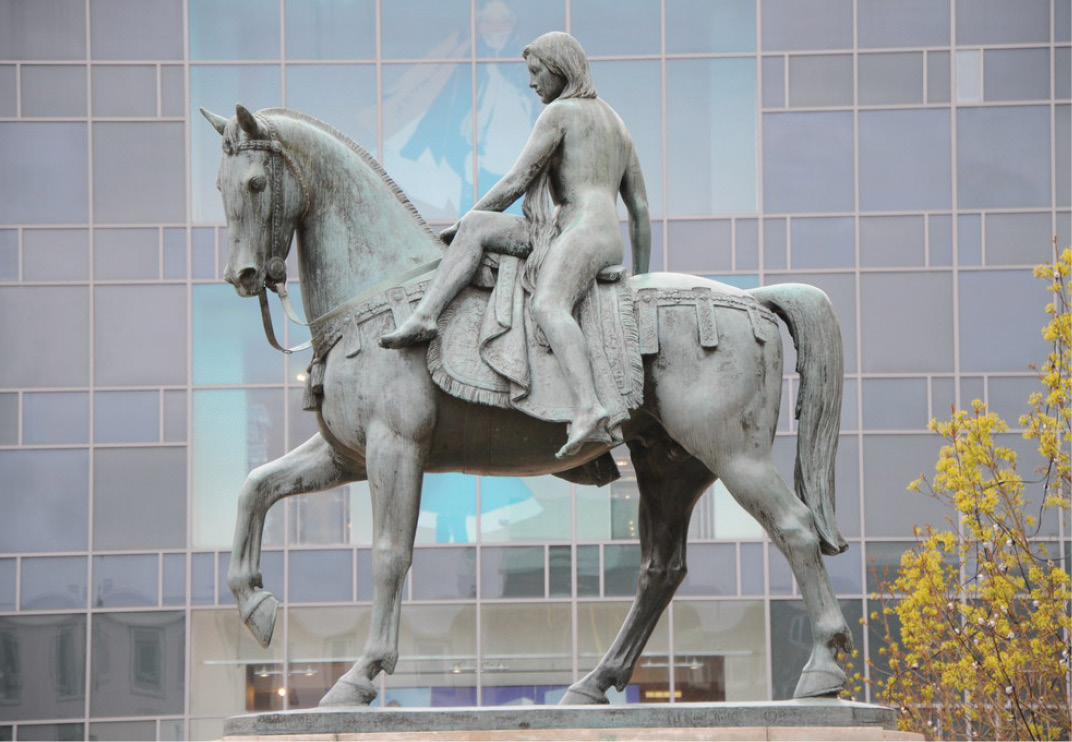 left It has been suggested that the story of Lady Godiva is behind the use of the term 'send someone to Coventry' to refer to ostracising somebody because of anti-social behaviour.