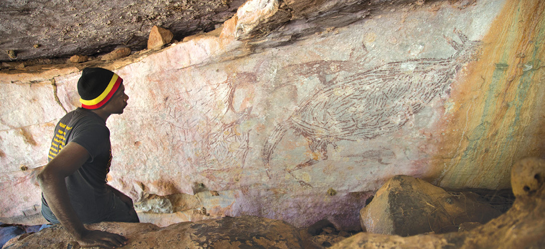 New dating for Australia's ancient paintings