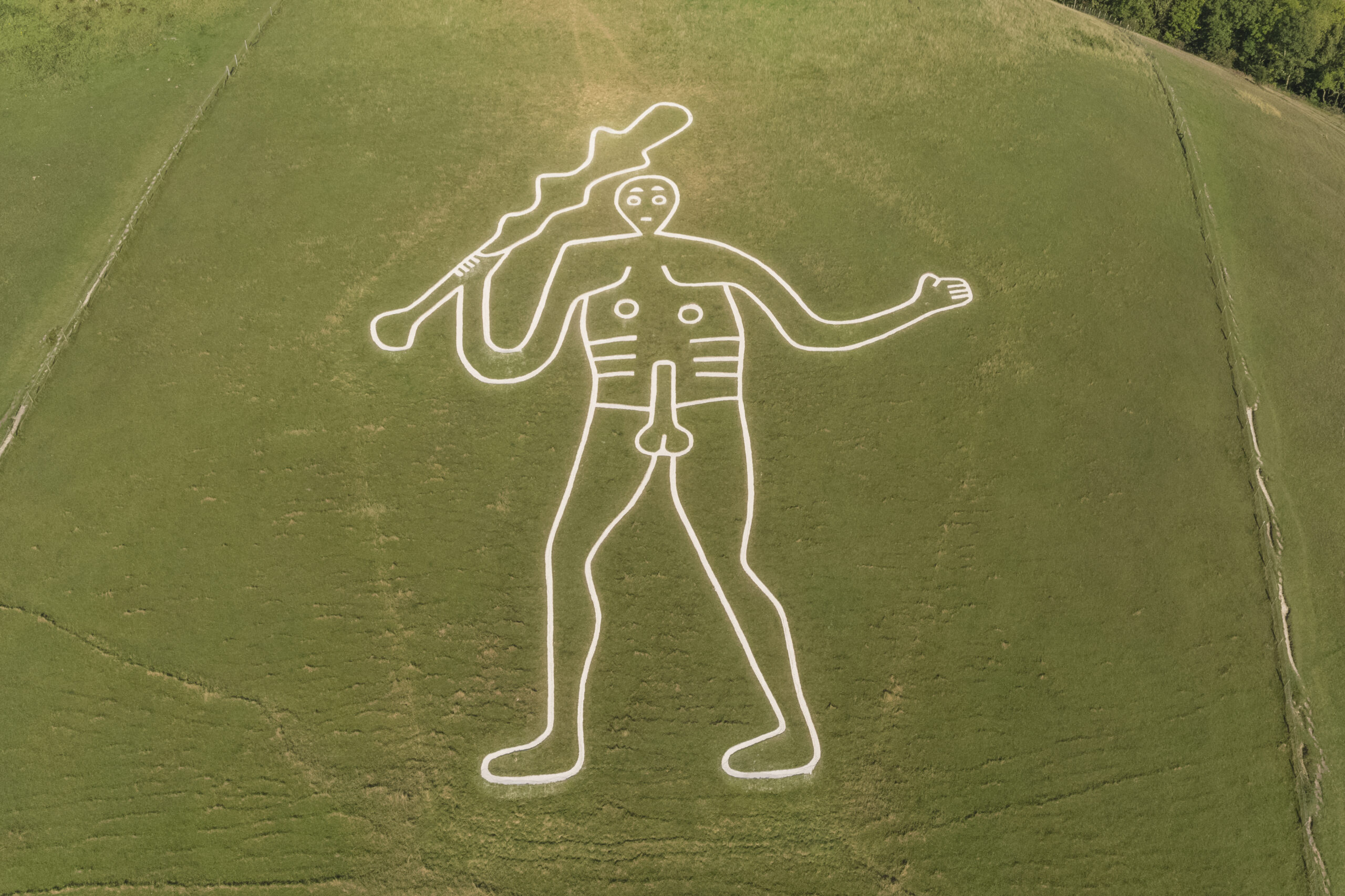 Cerne Abbas Giant is an Anglo-Saxon creation, study confirms