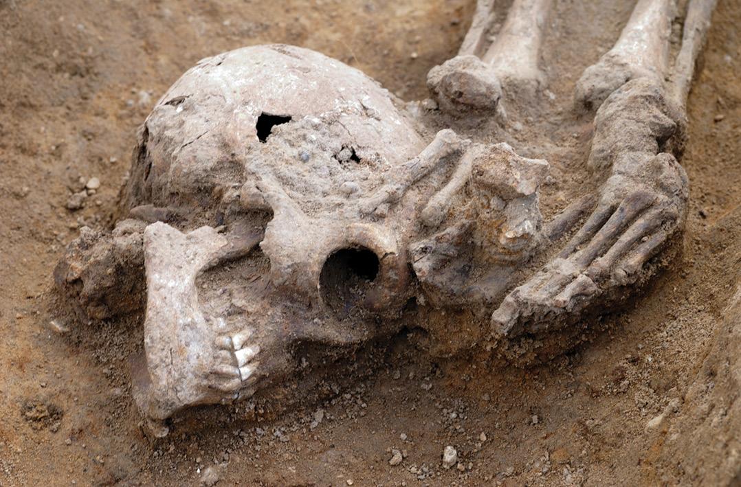 Roman execution cemeteries revealed in Cambridgeshire