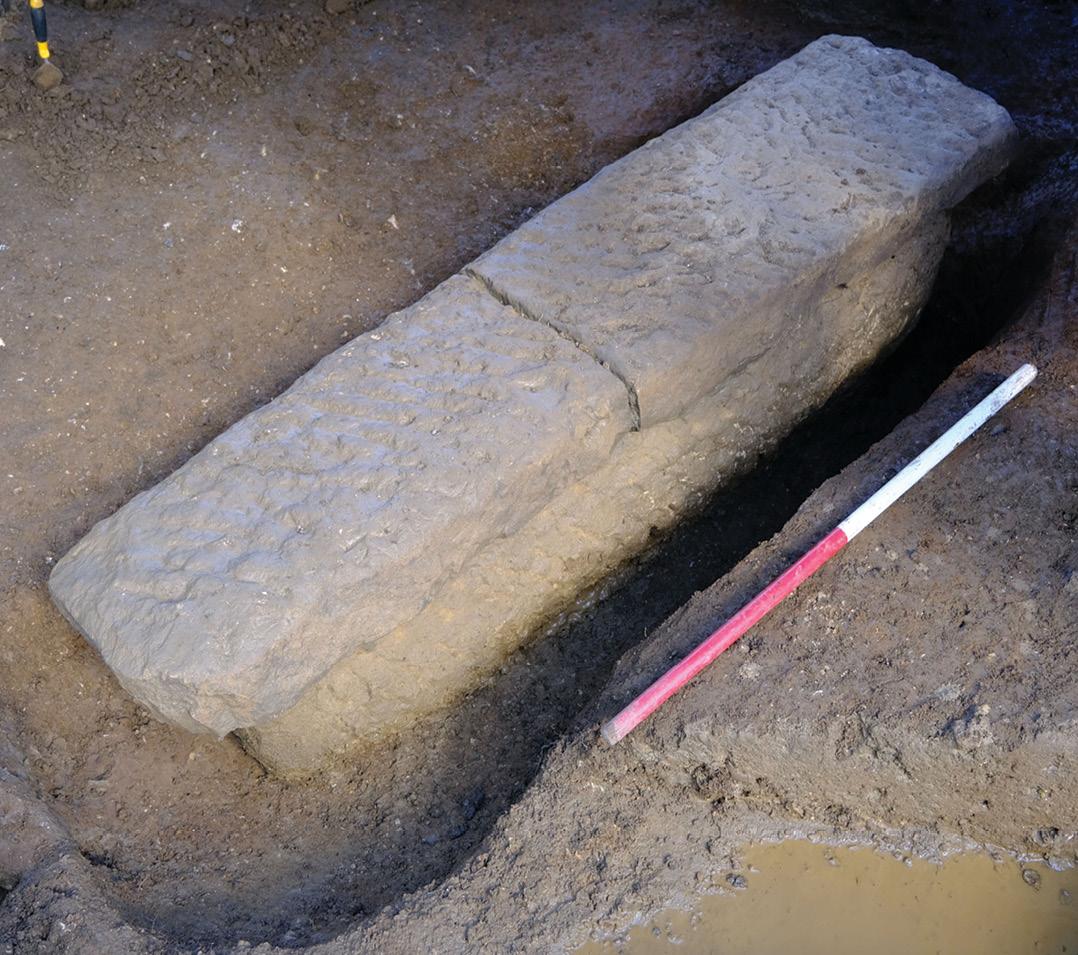 Roman sarcophagus discovered in Bath