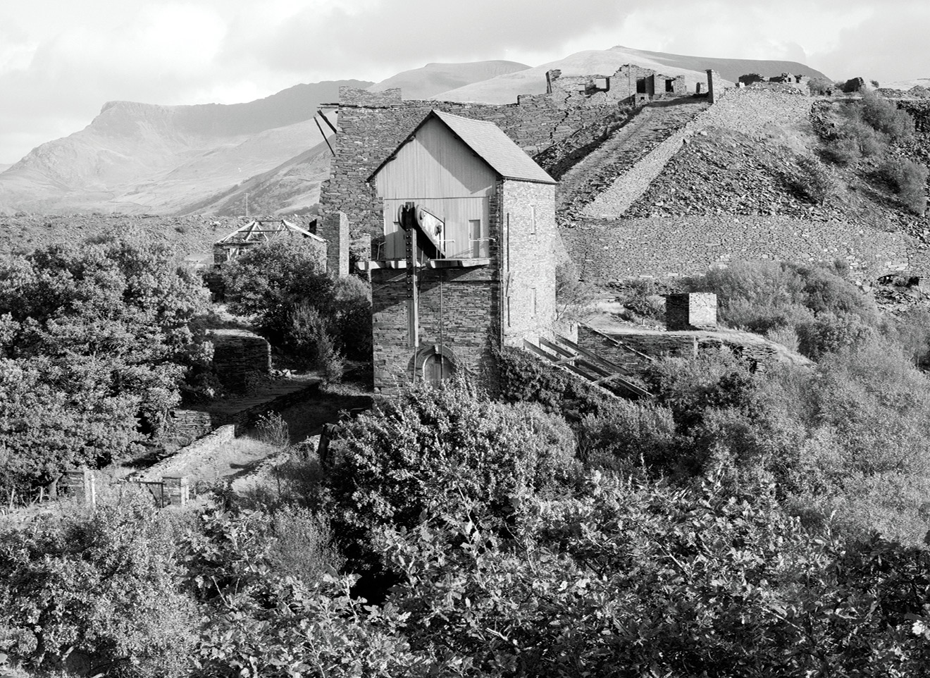 below Cornish beam engines are a distinctive feature of the Cornwall and West Devon Mining Landscapes World Heritage site, but they were also used for draining deep mines in the slate industry of north Wales. These archive images show the Nantlle Valley beam engine, one of the last such engines ever manufactured, made in 1906 by Holman Brothers one of Cornwall's most famous mining engineering companies.