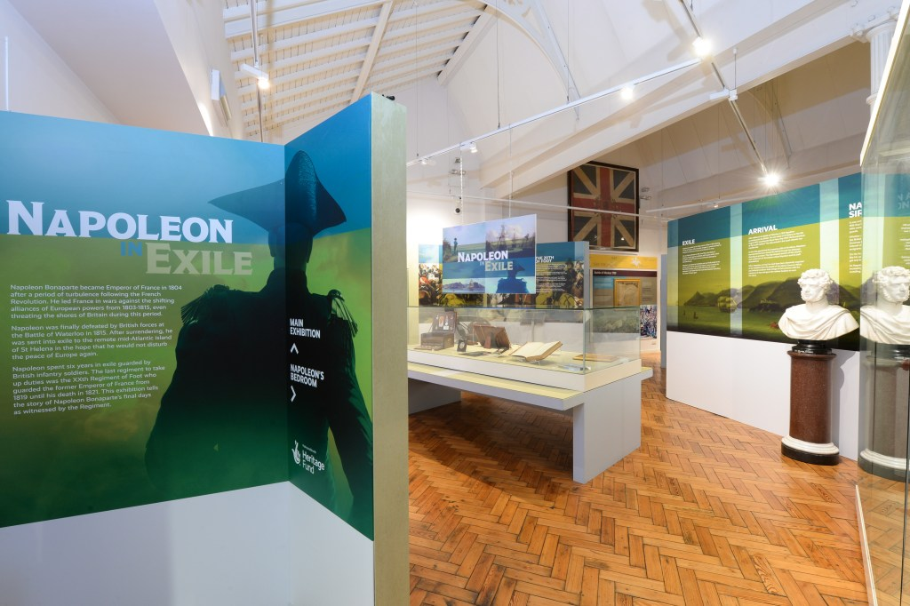 The temporary exhibition, funded by the Heritage Lottery Fund, has been curated by Sarah Stevenson and Paul Dalton. Image: Fusilier Museum.