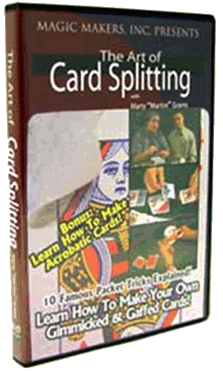 The Art of Card Splitting by Marty 'Martini' Grams - cover