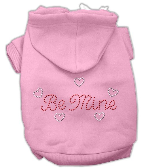 Be Mine Rhinestone Dog Hoodie - Pink | The Pet Boutique