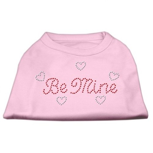 Be Mine Rhinestone Dog Shirt - Light Pink | The Pet Boutique