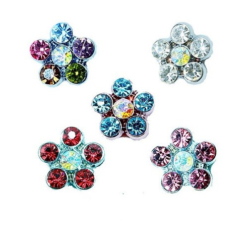 Flower Pet Collar Slider Charm | The Pet Boutique