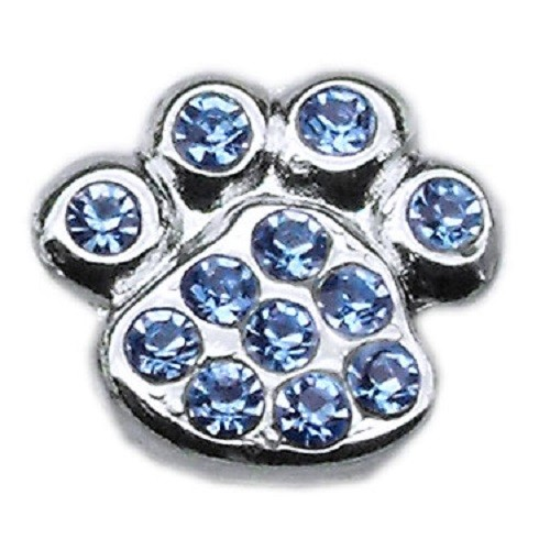Slider Paw Charm - Blue | The Pet Boutique