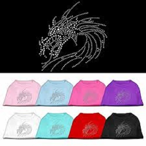 Studded Dragon Dog Shirt | The Pet Boutique