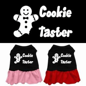 Cookie Taster Screen Print Dog Dress | The Pet Boutique