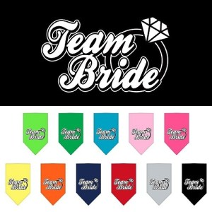 Team Bride Screen Print Pet Bandana | The Pet Boutique