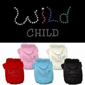 Wild Child Rhinestone Dog Hoodie | The Pet Boutique