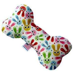 Funny Bunnies Bone Dog Toy   The Pet Boutique