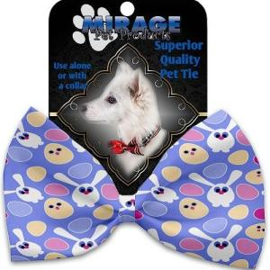 Chicks and Bunnies Pet Bow Tie Collar Accessory with Velcro   The Pet Boutique