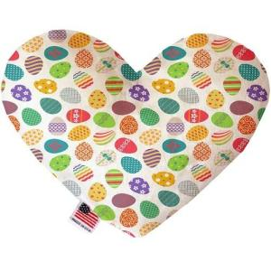 Easter Eggs Heart Dog Toy   The Pet Boutique