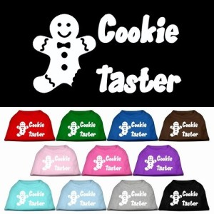 Cookie Taster Screen Print Pet Shirt | The Pet Boutique