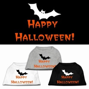 Happy Halloween Screen Print Dog Shirt | The Pet Boutique
