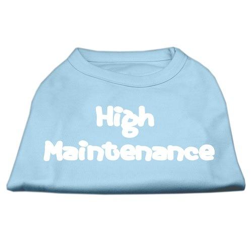 High Maintenance Screen Print Pet Shirt - Baby Blue | The Pet Boutique