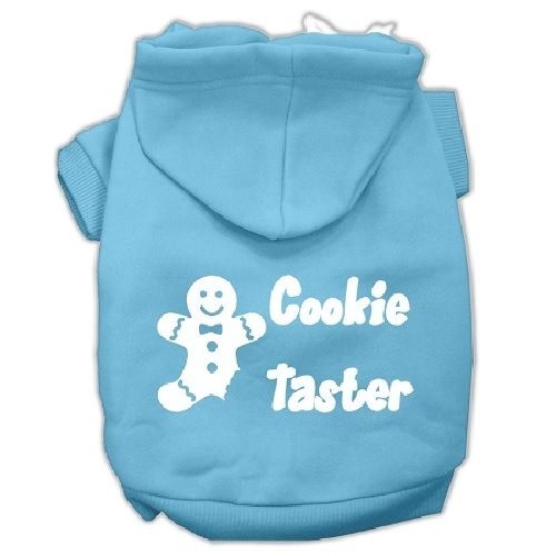 Cookie Taster Screen Print Pet Hoodie - Baby Blue | The Pet Boutique