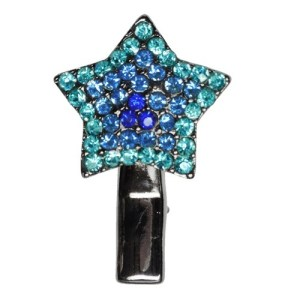 Star Dog Hair Clip - Blue | The Pet Boutique