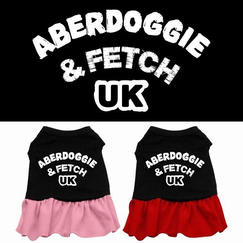 Aberdoggie UK Screen Print Pet Dress - Color Combo | The Pet Boutique