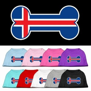 Bone Flag Iceland Screen Print Pet Bandana | The Pet Boutique