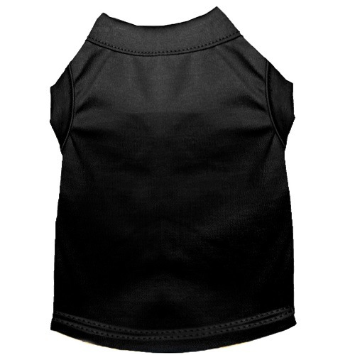 Plain Pet Shirt - Black | The Pet Boutique