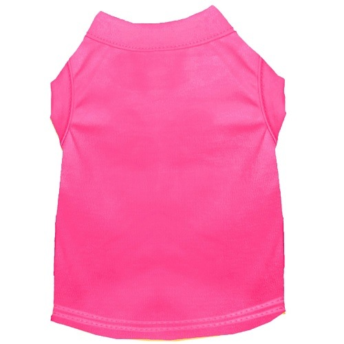 Plain Pet Shirt - Bright Pink | The Pet Boutique