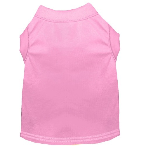 Plain Pet Shirt - Light Pink | The Pet Boutique