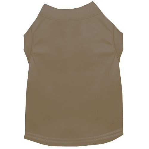 Plain Pet Shirt - Tan | The Pet Boutique