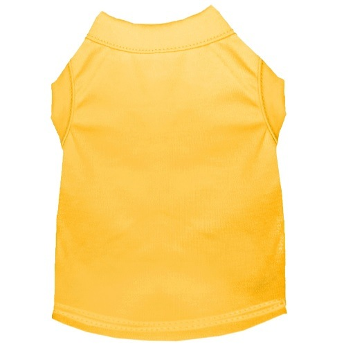 Plain Pet Shirt - Yellow | The Pet Boutique