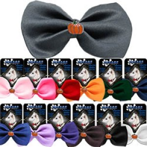 Pumpkin Widget Pet Bow Tie | The Pet Boutique