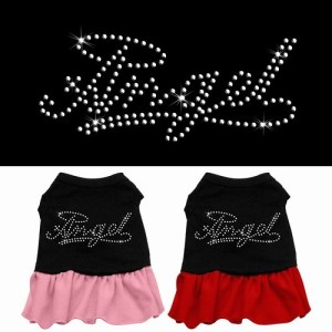 Rhinestone Angel Pet Dress - Color Combo | The Pet Boutique