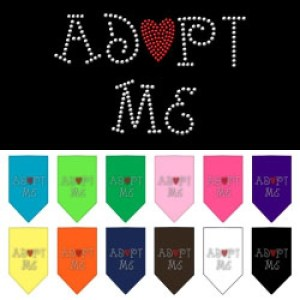Adopt Me Rhinestone Pet Bandana | The Pet Boutique