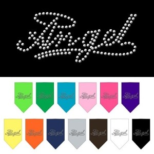 Angel Rhinestone Pet Bandana | The Pet Boutique