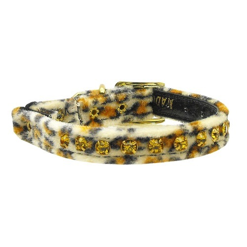 Animal Print Cat Safety Collar - Jaguar | The Pet Boutique