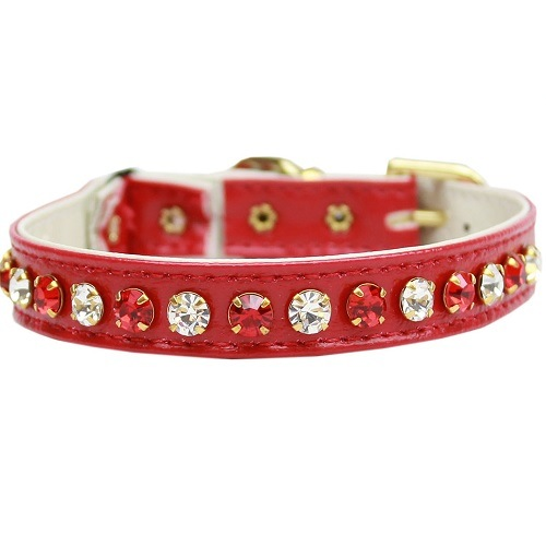 Deluxe Cat Collar - Red | The Pet Boutique
