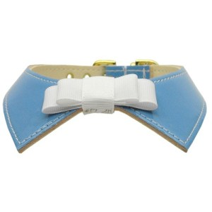 Johnny Shirt Collar Dog Collar - Baby Blue | The Pet Boutique